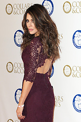 Danielle Lineker at the Battersea Dogs & Cats Home Collars & Coats Gala Ball in London, Thursday, 7th November 2013. Picture by Stephen Lock / i-Images