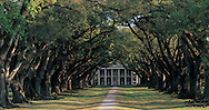 Louisiana. Vacherie, Oak Alley Plantation, built 1837-1839