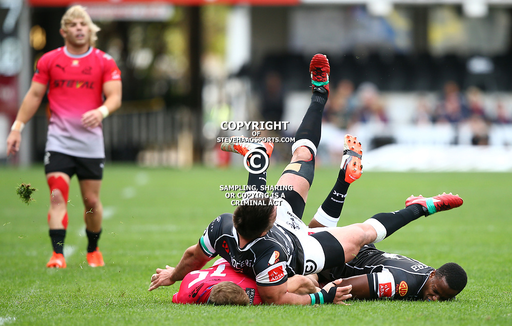 DURBAN, SOUTH AFRICA - SEPTEMBER 05: GV during the Absa Currie Cup match between Cell C Sharks and Steval Pumas at Growthpoint Kings Park on September 05, 2015 in Durban, South Africa. (Photo by Steve Haag/Gallo Images)