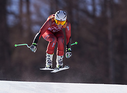 February 17, 2018 - PyeongChang, South Korea - RAGNHILD MOWINCKEL of Norway during Alpine Skiing: Ladies Super-G at Jeongseon Alpine Centre at the 2018 Pyeongchang Winter Olympic Games. (Credit Image: © Patrice Lapointe via ZUMA Wire)