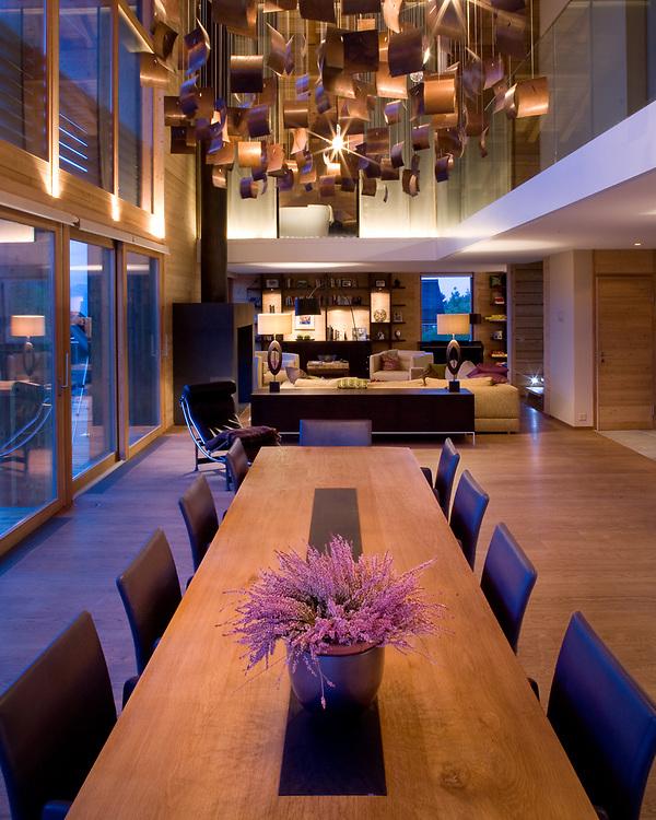 Gardner Residence, Villars-Gryon, Switzerland | Foster+Partners - BFLS - Callender Howorth | 2008