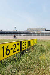View of former airport at Tempelhof in Berlin Germany