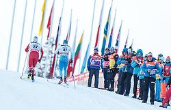 27.11.2016, Nordic Arena, Ruka, FIN, FIS Weltcup Langlauf, Nordic Opening, Kuusamo, Herren, im Bild Athleten an der Coaching Zone // Athletes at the Coachig Zone during the Mens FIS Cross Country World Cup of the Nordic Opening at the Nordic Arena in Ruka, Finland on 2016/11/27. EXPA Pictures © 2016, PhotoCredit: EXPA/ JFK