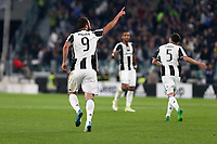 06.05.2017 - Torino - Serie A 2016/17 - 35a giornata  -  Juventus-Torino nella  foto: Gonzalo Higuain esulta dopo il gol dell' 1 a 1