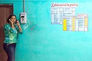 Bus station in Mayari, Holguin, Cuba.