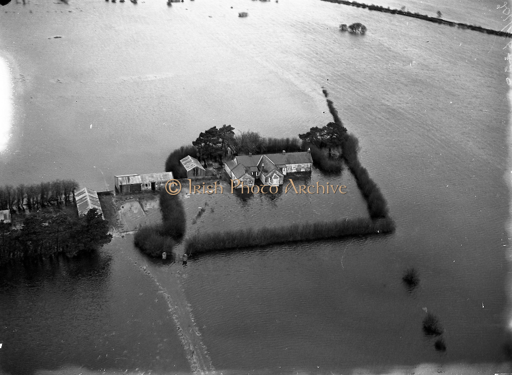 Floods - Shannon Flooding - Aerial Views .05/01/1957