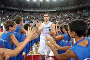 DESCRIZIONE : Roma Amichevole preparazione Eurobasket 2007 Italia Grecia <br /> GIOCATORE : Matteo Soragna<br /> SQUADRA : Nazionale Italia Uomini<br /> EVENTO : Amichevole preparazione Eurobasket 2007 Italia Grecia <br /> GARA : Italia Grecia <br /> DATA : 30/08/2007 <br /> CATEGORIA : Ritratto<br /> SPORT : Pallacanestro <br /> AUTORE : Agenzia Ciamillo-Castoria/G.Ciamillo