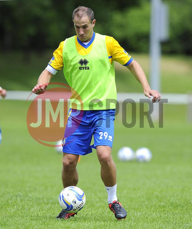 Bristol Rovers' Mark McChrystal - Photo mandatory by-line: Joe Meredith/JMP - Tel: Mobile: 07966 386802 24/06/2013 - SPORT - FOOTBALL - Bristol -  Bristol Rovers - Pre Season Training - Npower League Two