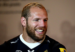 James Haskell of Wasps is interviewed at the Aviva Premiership Rugby 2017/18 season launch - Mandatory by-line: Robbie Stephenson/JMP - 24/08/2017 - RUGBY - Twickenham - London, England - Premiership Rugby Launch
