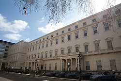18 Carlton House Terrace. A home in London, is set to become the most expensive property ever sold in the UK after it went on the market for £250million, London, UK, Tuesday, April 23, 2013. Photo by: Daniel Leal-Olivas / i-Images. .