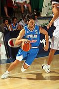 DESCRIZIONE : Bormio Trofeo Internazionale Diego Gianatti Grecia Italia <br /> GIOCATORE : Basile<br /> SQUADRA : Italia<br /> EVENTO : Bormio Trofeo Internazionale Diego Gianatti Grecia Italia <br /> GARA : Grecia Italia <br /> DATA : 23/07/2006 <br /> CATEGORIA : Palleggio <br /> SPORT : Pallacanestro <br /> AUTORE : Agenzia Ciamillo-Castoria/M.Marchi <br /> Galleria : FIP Nazionale Italiana <br /> Fotonotizia : Bormio Trofeo Internazionale Diego Gianatti Grecia Italia <br /> Predefinita :