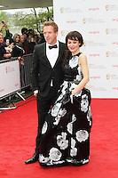 Damian Lewis; Helen McCrory, Arqiva British Academy Television Awards, Royal Festival Hall London UK, 12 may 2013, (Photo by Richard Goldschmidt)