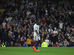 Victor Moses of Chelsea  celebrates scoring his sides second goal - Mandatory by-line: Jack Phillips/JMP - 19/04/2018 - FOOTBALL - Turf Moor - Burnley, England - Burnley v Chelsea - English Premier League