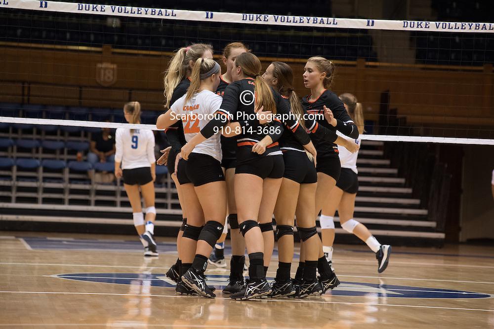 2016 Campbell University Volleyball vs Duke
