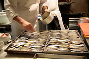 Fish for dinner at Teatro del Sale, Florence, Italy, Frommer's Italy Day By Day