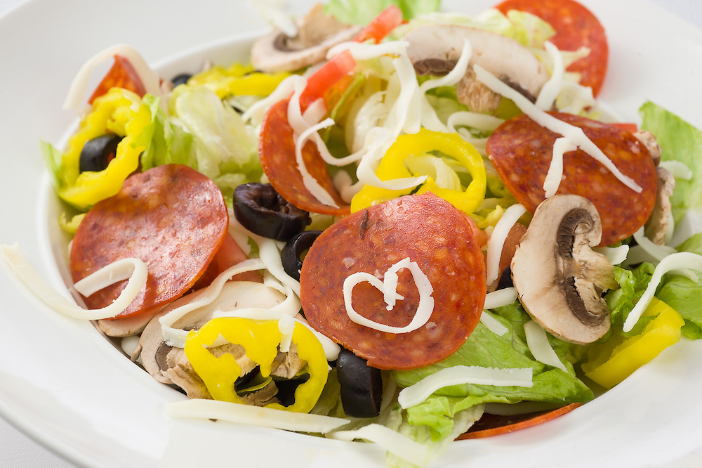 Craigo's house deli-style salad.