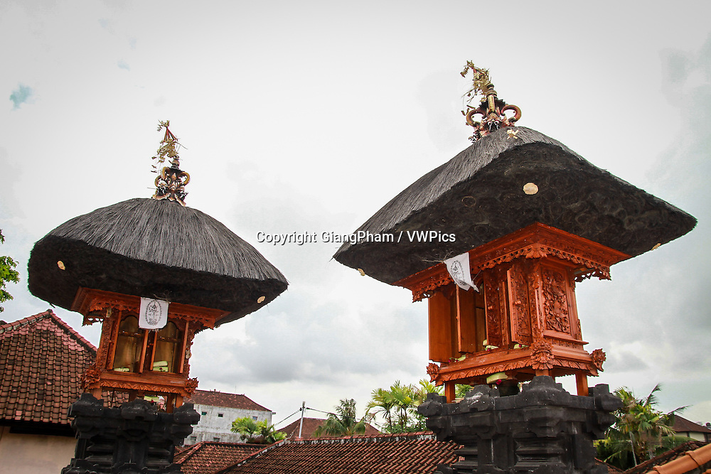 Home temple in a house, Bali, Indonesia