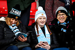 Exeter Chiefs fans - Mandatory by-line: Robbie Stephenson/JMP - 08/12/2019 - RUGBY - AJ Bell Stadium - Manchester, England - Sale Sharks v Exeter Chiefs - Heineken Champions Cup