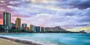 Sunrise at Waikiki on Oahu
