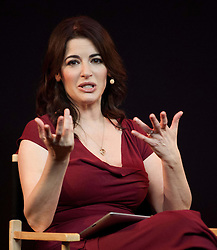 TV Chef and Writer Nigella Lawson speaks to the public about her cookbooks, TV series and award-winning apps at Apple Store, London, United Kingdom, October 29, 2012. Photo by Nils Jorgensen / i-Images.<br />