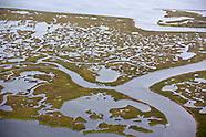 Coastal Erosion Aeriel View