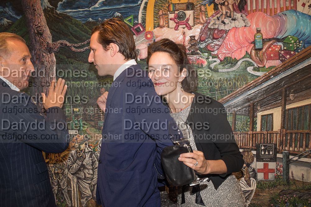 Spas Roussev; HENRY HUDSON AND HIS MOTHER BETSY BELL, Henry Hudson: The Rise and Fall of Young Sen – The Contemporary Artist's Progress - private view. S2,  Sothebys 31 St George Street, London