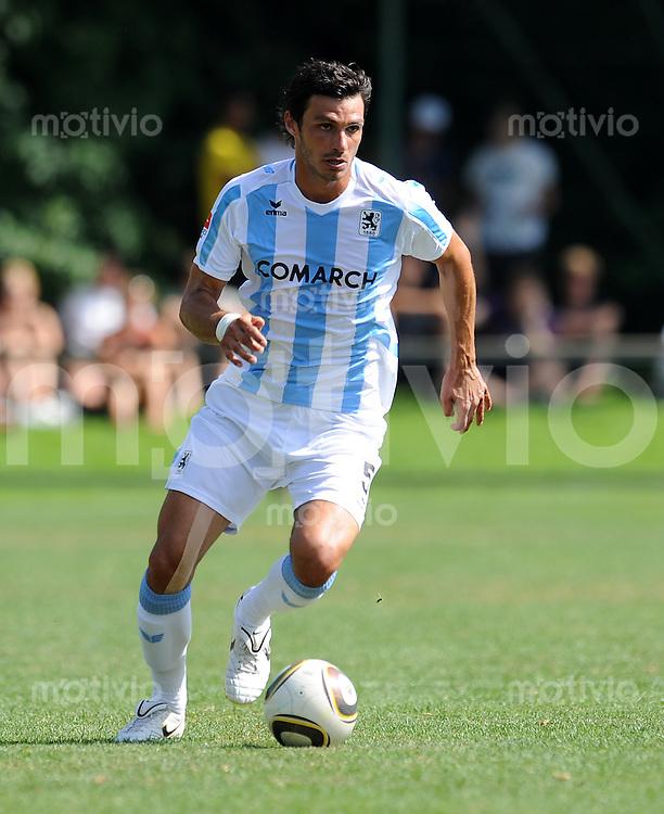 2. Fussball Bundesliga:  Saison   2010/2011 Testspiel  SV Aubing - 1860 Muenchen    10.07.2010 Mathieu Beda (1860 Muenchen)