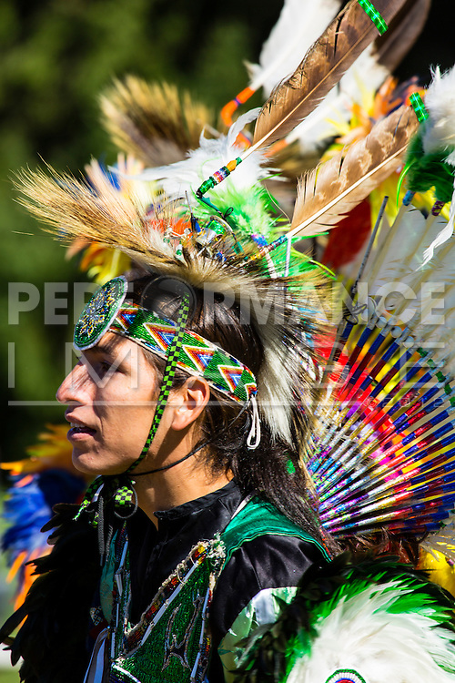 Native dancers at aboriginal POW WOW