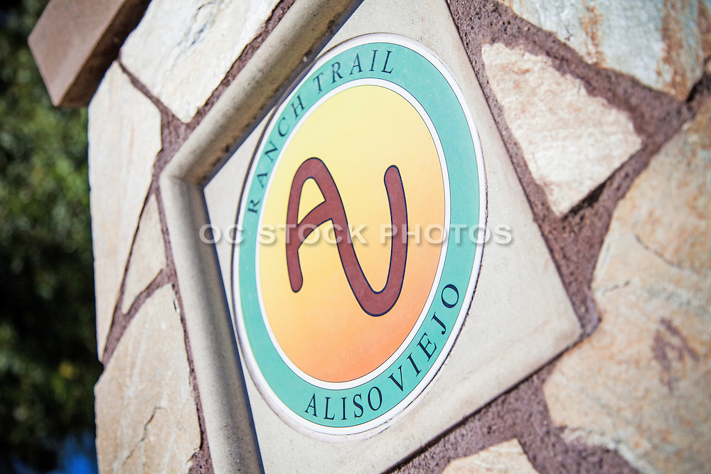 Ranch Trail Monument In Aliso Viejo
