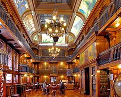 FOT&Oacute;GRAFO: Jaime Villaseca ///<br /> <br /> Sala de lectura Jos&eacute; Toribio Medina, Biblioteca Nacional de Chile.