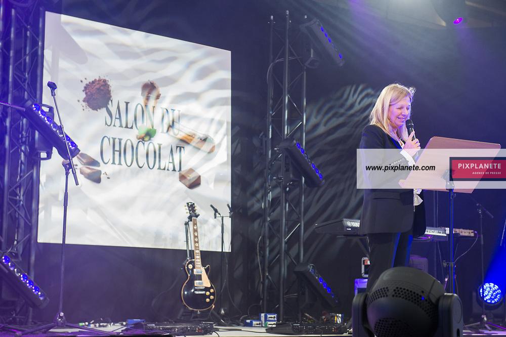 Sylvie Douce 25ème Salon du Chocolat mardi 29 Octobre 2019 Porte de Versailles Paris