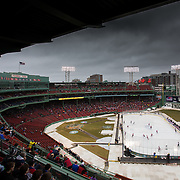 NCAA Men's Hockey: Northeastern vs. UMass Lowell (Frozen Fenway) 1/11/2014
