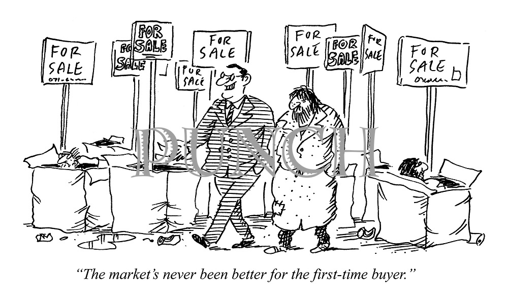 """The market's never been better for the first-time buyer."""