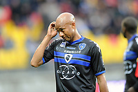 FOOTBALL - FRENCH CHAMPIONSHIP 2011/2012 - LE MANS FC v SC BASTIA   - 4/05/2015 - PHOTO PASCAL ALLEE / DPPI - Jacques Désiré PERIATAMBEE (BAS)