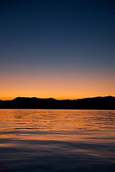 """Sunrise at Lake Tahoe 7"" - This sunrise was photographed from a boat on Lake Tahoe."