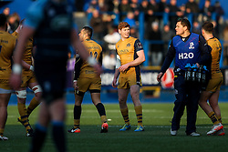 Jack Tovey of Bristol Rugby looks on - Rogan Thomson/JMP - 21/01/2017 - RUGBY UNION - Cardiff Arms Park - Cardiff, Wales - Cardiff Blues v Bristol Rugby - EPCR Challenge Cup.