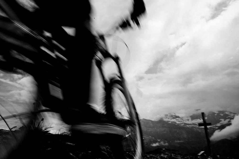 Rider: Jean-Baptiste Mogasik, ?Location: Les Portes du Soleil       (France)