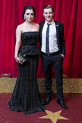 © Licensed to London News Pictures . 16/05/2015 .  The Palace Hotel , Manchester , UK . Shoana McGarty and  . The red carpet at the 2015 British Soap Awards , The Palace Hotel , Oxford Road , Manchester . Photo credit : Joel Goodman/LNP