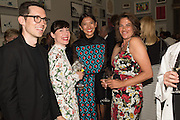 ERDEM MORALIOGLU;; SARAH MORALIOGLU;  Hikari Yokoyama; TRACEY EMIN, Royal Academy Summer exhibition party. Piccadilly. 7 June 2016