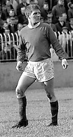 Sammy Pavis, footballer, Linfield FC, Belfast, N Ireland, action, November 1968, 196811000167<br />