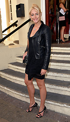 Ali Bastian attends Puttin' on the Ritz Press Night at New Wimbledon Theatre, The Broadway, London on Thursday 28 May 2015