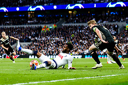 Danny Rose of Tottenham Hotspur controls the ball - Mandatory by-line: Robbie Stephenson/JMP - 30/04/2019 - FOOTBALL - Tottenham Hotspur Stadium - London, England - Tottenham Hotspur v Ajax - UEFA Champions League Semi-Final 1st Leg