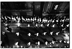 Alca&ntilde;iz, Teruel,Spain.<br /> An Easter procession at night. Semana Santa.&copy;Carmen Secanella