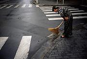 Waitress. Shanghai, China. 2007