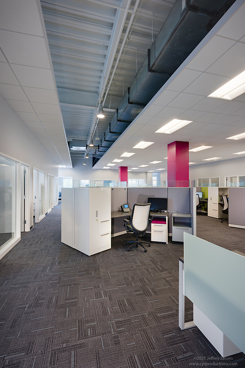 Office interior image of Presidio in Maple Lawn Corporate Center in Marylad by Jeffrey Sauers of Commercial Photographics, Architectural Photo Artistry in Washington DC, Virginia to Florida and PA to New England