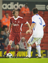 LIVERPOOL, ENGLAND - Thursday, May 14, 2009: Liverpool Legends' Steve McManaman during the Hillsborough Memorial Charity Game at Anfield. (Photo by David Rawcliffe/Propaganda)