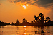 Sunrise on Lake of the Woods<br />Kenora District<br />Ontario<br />Canada