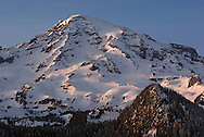 Ricksetter Sunset - Mount Rainier National Park
