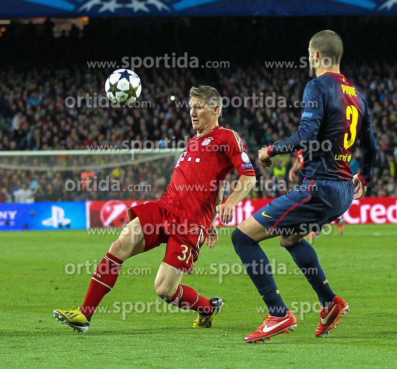 01.05.2013, Camp Nou, Barcelona, ESP, UEFA CL, FC Barcelona vs FC Bayern Muenchen, Halbfinale, Rueckspiel, im Bild,  // during the UEFA Champions League 2nd Leg Semifinal Match between Barcelona FC and FC Bayern Munich at the Camp Nou, Barcelona, Spain on 2013/05/01. EXPA Pictures © 2013, PhotoCredit: EXPA/ Eibner/ Christian Kolbert..***** ATTENTION - OUT OF GER *****