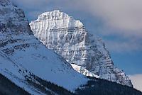 Mount Stephen in winter, Yoho National Park Alberta Canada